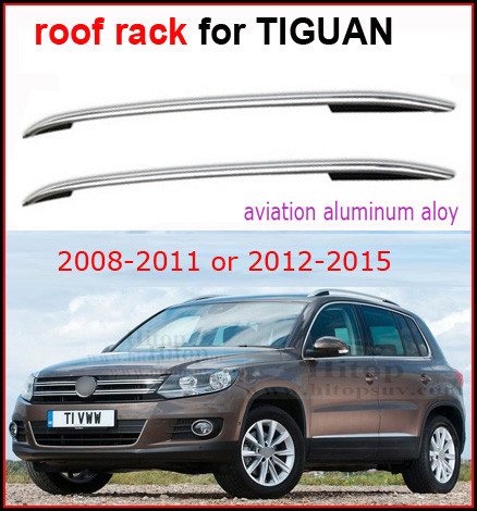 Roof Rail/luggage Bar/roof Rack For Volkswagen VW TIGUAN 2008 2016,