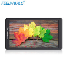 Feelworld F570 5,7 «ips Full HD 1920×1080 4 К на поле камера монитор с HDMI Вход выход крепление Stablizer для DSLR карданный Rig