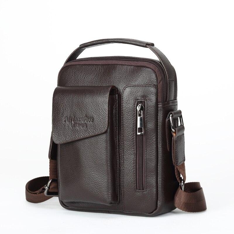 hot sell famous brand men shoulder bag casual business male handbag cow leather messenger bag with high quality man bags bolsa