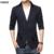2017 Nueva Llegada Chaqueta de Los Hombres de Otoño de la Marca de Lujo de Algodón de Alta Calidad Slim Fit de Moda Para Hombre de la Chaqueta de los Hombres Traje Chaqueta Blazer Tallas grandes