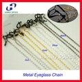 DH018 12 шт. Розничная Красивые металлические очки цепь очки очки солнцезащитные очки держатель шнура 4 различных цветов
