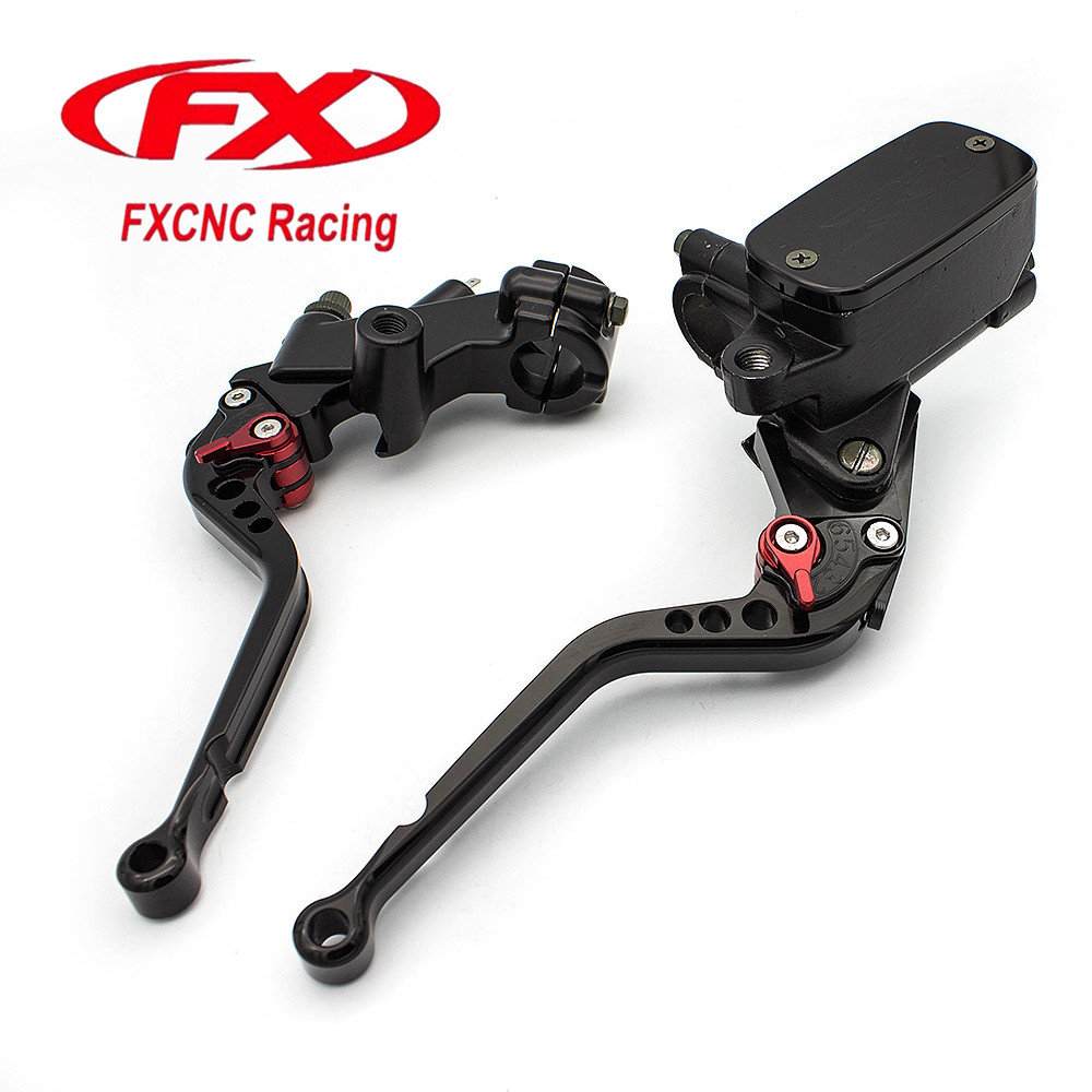 Motorcycle Hydraulic Brake Clutch Lever Master Cylinder Reservoir Cable For Honda NV400 DCY/DC1/DC2 NC40 Shadow 400 2000 - 2008 motorcycle brake clutch lever master cylinder reservoir for honda vt 600c 750c2 750c3 vt1100c shadow 1300cs 1300cr vtx 1300t