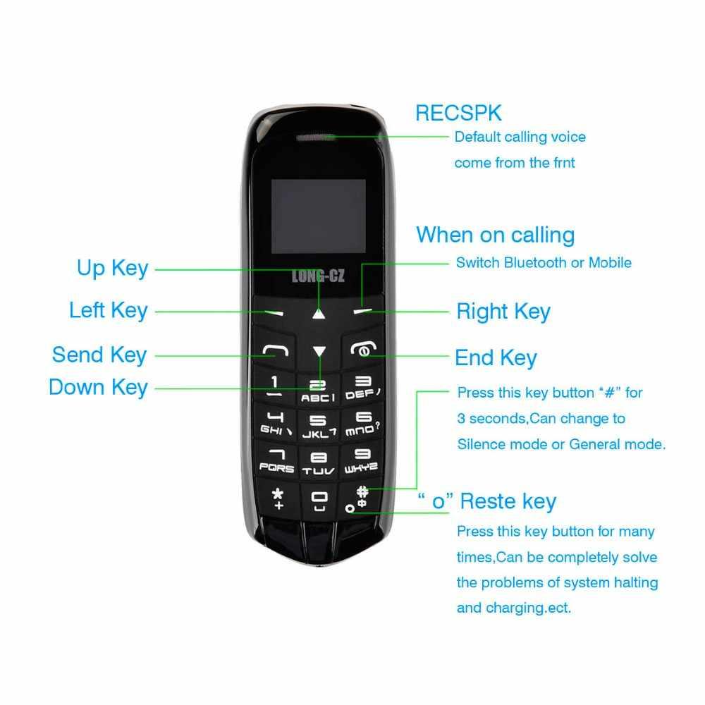 Оригинальный длинный cz J8 волшебный голосовой Bluetooth дозвон Fm радио мини Bluetooth 3,0 наушники длинный режим ожидания мобильный телефон