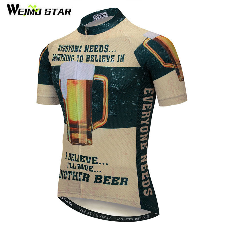 Detail Feedback Questions about Weimostar Beer Cycling Jersey Men Summer  Short Sleeve Cycling Clothing Ropa Ciclismo Quick Dry MTB Bike Jersey  Maillot ... 259f69d9e