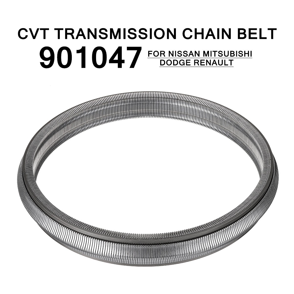 CVT Transmission Drive Chain Belt Fit for Nissan/Dodge/Mitsubishi-Renault 901047 Automatic Transmission & Parts Diameter 24cm жидкость для cvt mitsubishi synt fluid cvt j4 0 946л mz320185