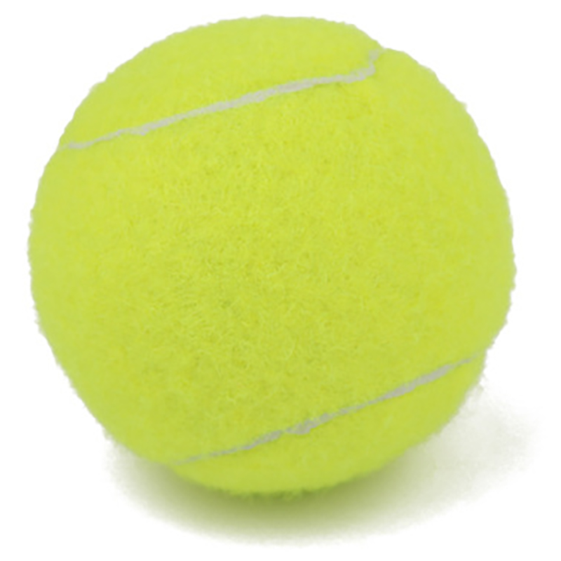 3PC Fluorescent Yellow Tennis Balls Professional Good Elasticity Tennis Ball Practice Competition Training Exercises Competition