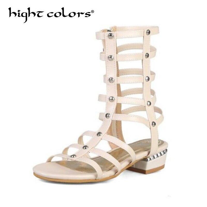 Flache Absätze Sommer Schuhe Sandalen Frauen 2019 Mode Böhmen Stil Strand Flip-flops Sandalen Weibliche Schuhe Clip Toe Plattform Sandalen Frau Hell In Farbe