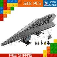 3208 шт. новые космические войны супер Звездный Разрушитель 05028 собрать фигурки строительные блоки большие подарки игрушки совместимы с LegoING