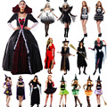 Traje de la bruja Diablo Ángel Ropa Cosplay Carnaval de Disfraces de Halloween para Las Mujeres Fiesta de Cumpleaños de Navidad