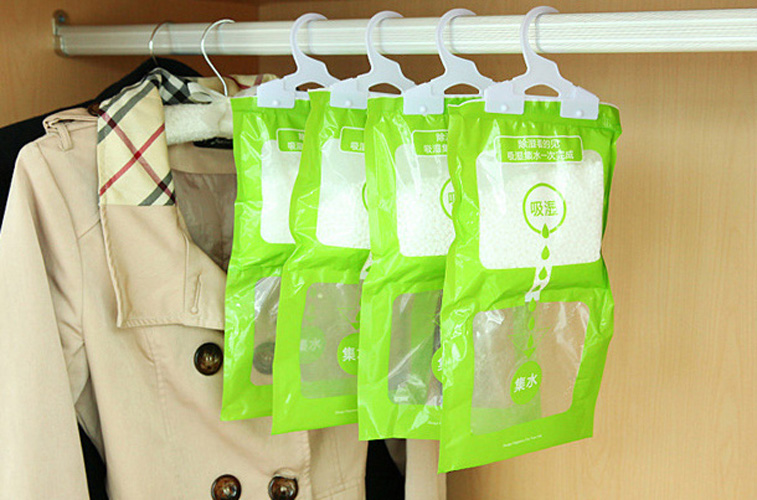 Air Cleaning Hanging Dehumidifier Bag Health Prevent Damp PP Bag Home & Garden Home Improvement