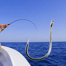 500 Pcs/Lot 3# -12# Carbon Steel Fishing Hook Fishhooks Durable Pesca Jig Head Fishing Hooks with Hole Carp Fishing Tackle Box