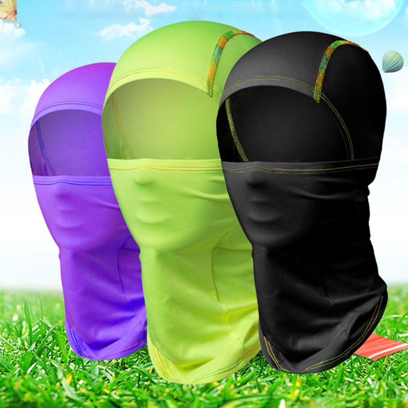 Sports Face Masks Cycling Face Mask 1 Pc Windproof Ski Riding Full Face Mask Cold Weather Neck Warmer Hood Sunscreen Hat Outdoor Hiking Climbing Adventure Supply