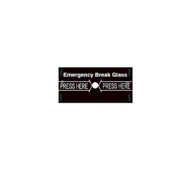 Emergency Break Glass For Alarm Breaking Emergency Button Alarm