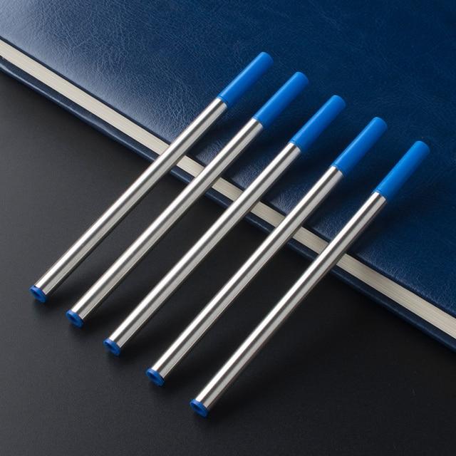 6Pcs / Lot Jinhao Baoer Hero roller ball Pen Refills ballpoint rollerball pen refill for Writing factory Wholesale 2