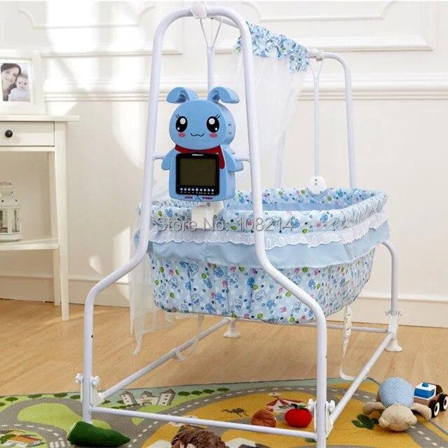 2015 recién llegado de oscilación automática cuna infantil muebles ...