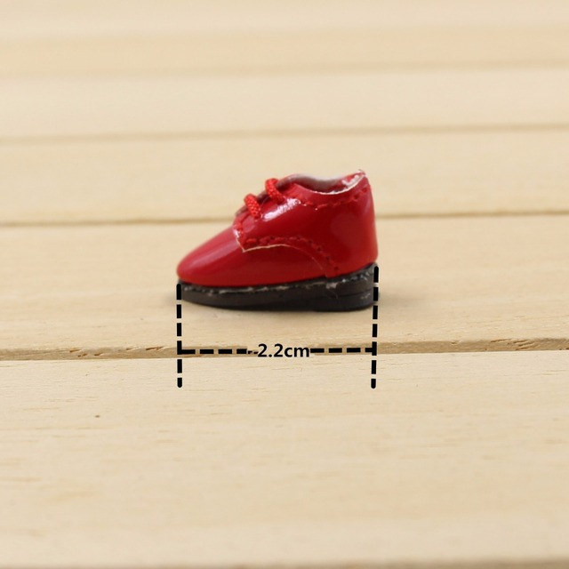 Middle 1/8 Doll Leather Shoes four colors glossy 2.2cm F&D professional design  gift