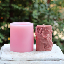 Candle Silicone Mold 3D Deer Relief DIY Handmade Soap Making Tool Craft Resin Clay Mould