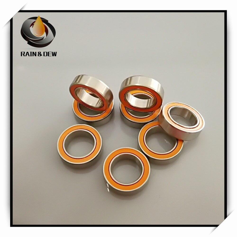 Ochoos Fishing Reel Bearing 10PCS 5X11X4mm SMR115 2OS CB ABEC7 LD 5x11x4 Stainless Steel Hybrid Ceramic Ball Bearing