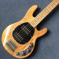 New style high quality custom 5 string bass guitar,Maple fingerboard , The body of Fraxinus mandshurica,free shipping