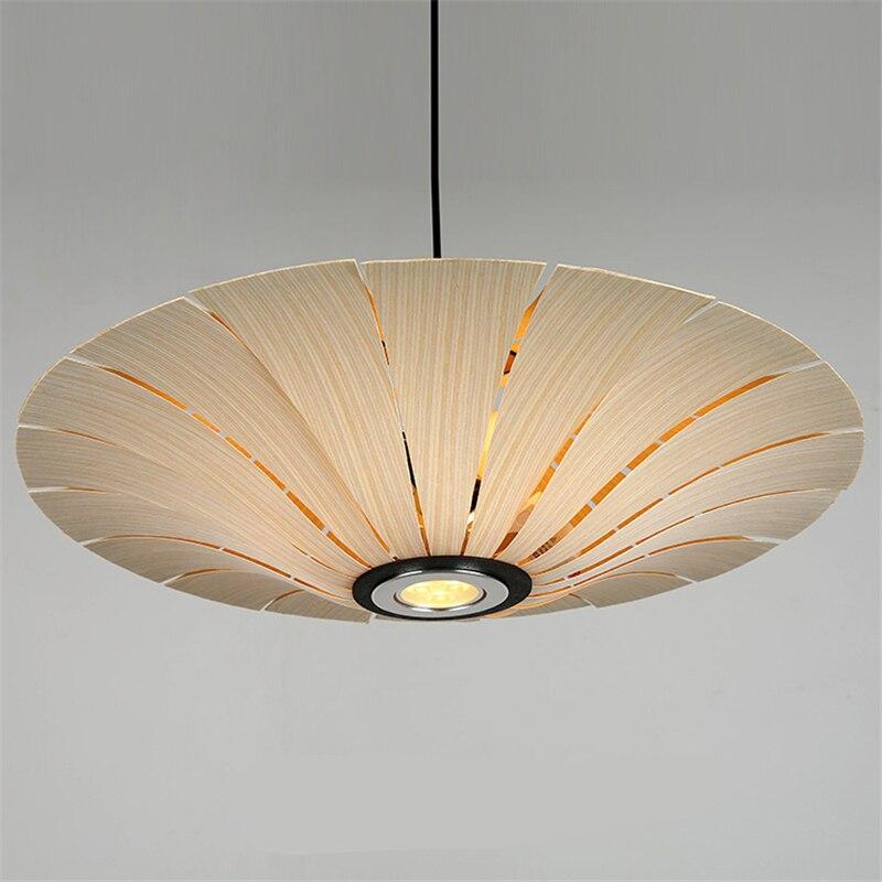 Dia60cm/70cm Oak Bark/Cherry Bark Wooden Led Lamp Rustic American Design Country Style Pendant Lighting Dining Room PLL-440 bark
