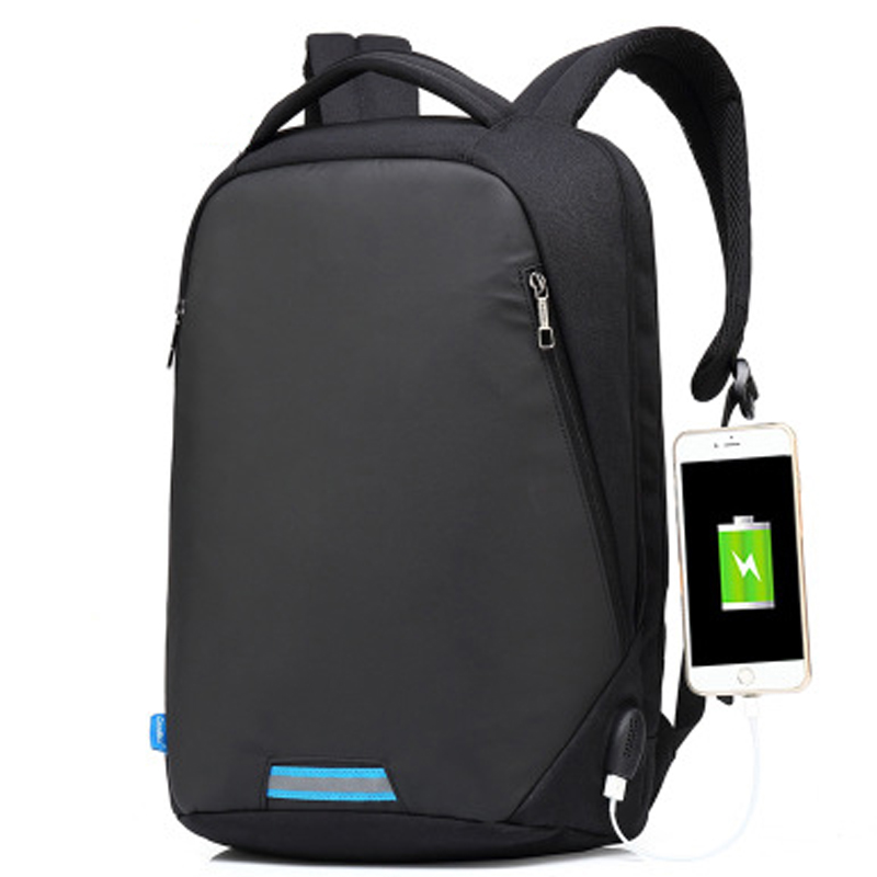 New USB charging Shoulders backpack 14 15 15.6 For Macbook Huawei HP ASUS Dell Xiaomi Lenovo Samsung Laptop Case Notebook Bag