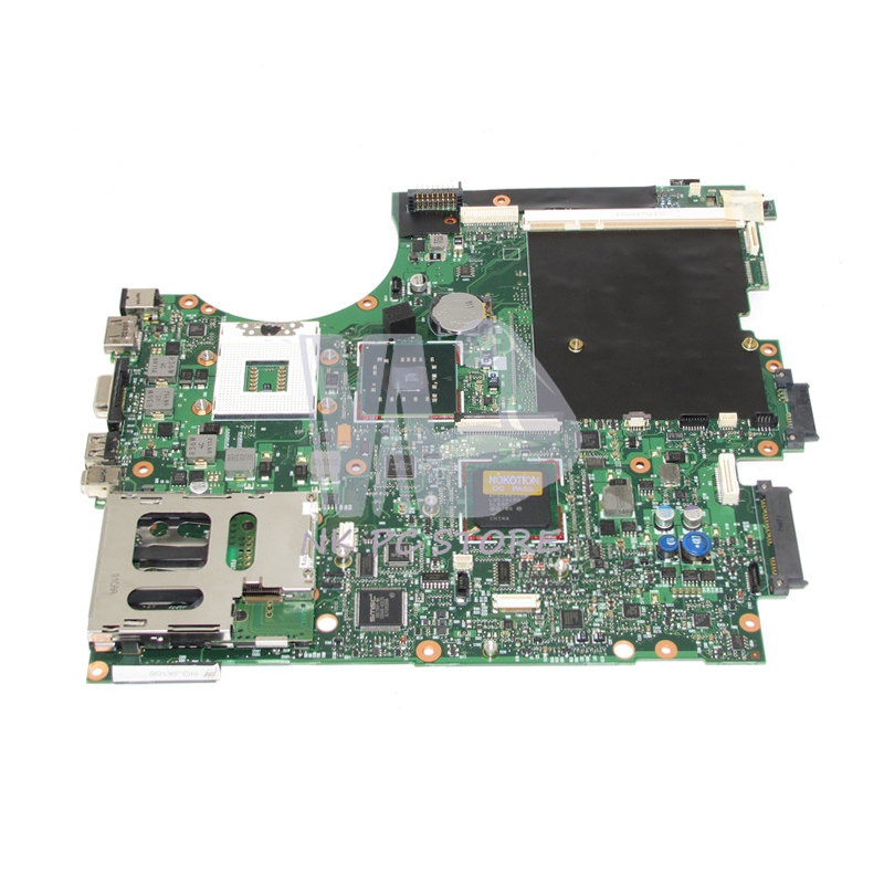 NOKOTION 493980-001 Main Board For HP Elitebook 8730W Laptop Motherboard PM45 DDR2 With graphics slot Free CPU nokotion laptop motherboard for hp pavilion dv3 intel pm45 ddr2 with nvdia graphics kjw10 la 4735p 576795 001