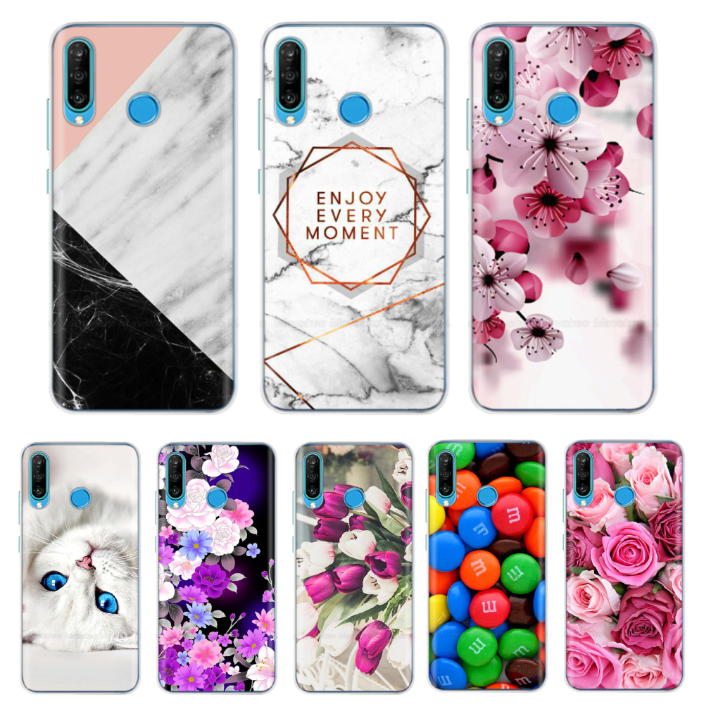 For Huawei P30 Lite Cases Silicone Soft TPU Back Cover For Funda Huawei P30 Lite Pro P30Lite P30Pro P 30 Phone Case Cover Couqe