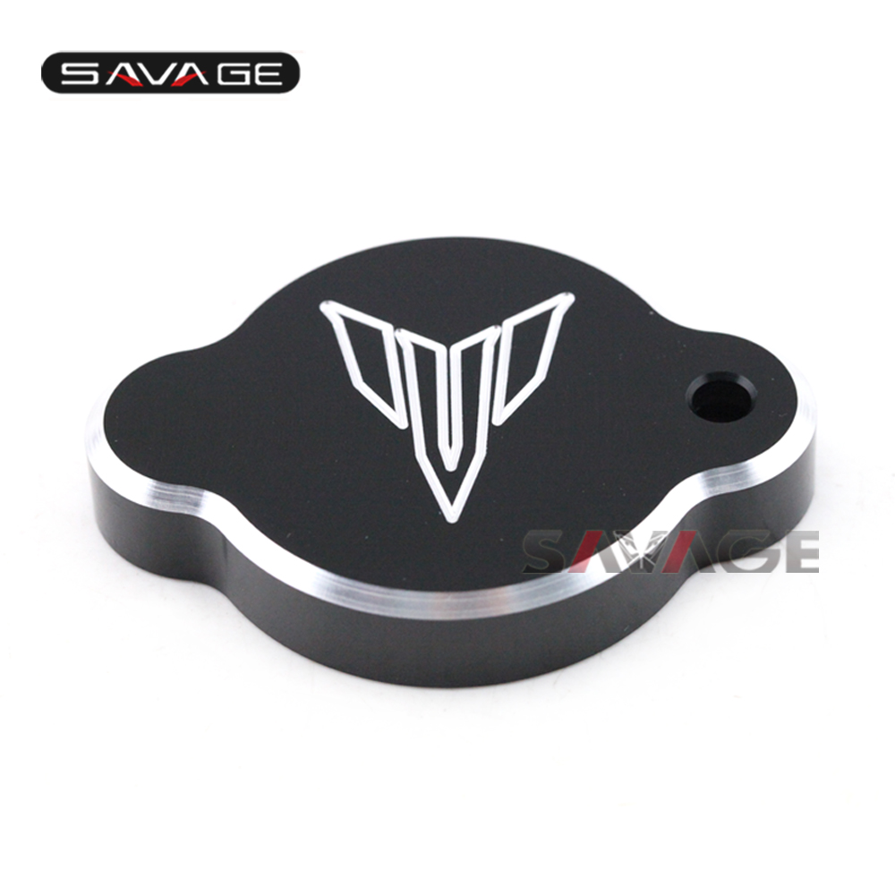 For YAMAHA MT09 FZ09 MT-09 FZ-09 2014 2015 2016 Radiator Cover Water Tank Cap Motorcycle Accessories Red/Black/Blue motorcycle rubber black gas fuel tank with cap for honda crf230f crf 230f 2015 2016 2017