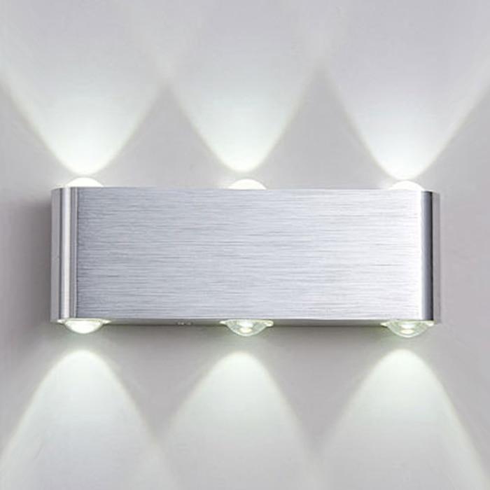 YooE Led Wall Lamp 6W 8W Wall Sconces Indoor Stair Light Fixture Bedroom Bedside Living Room Home Hallway Loft Up Down Lampada стоимость