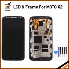 High Quality For Motorola MOTO X2 XT1092 XT1095 XT1096 XT1097 LCD Display with Touch Screen Digitizer Assembly+Tool