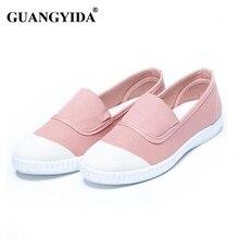 Женщины Повседневная Обувь Твердые Slip-на Женщин Квартиры Мокасины Удобные Женщины Плоские Туфли Chaussure Femme ZY115