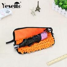 Yesello, портативные сумки для хранения из Сверхтонких волокон, чехлы для зонта, ткань для чистки, водонепроницаемый чехол