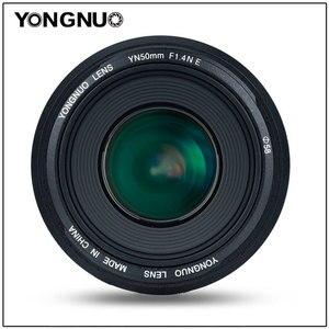 Image 2 - Объектив YONGNUO YN50MM 50 мм F1.4N F1.4 E Standard Prime, AF/MF для Nikon D7500 D7200 D7100 D7000 D5600 D5500 D5300 D5200 D5100