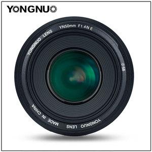 Image 2 - YONGNUO YN50MM 50MM F1.4N F1.4 E Standard Prime Lens AF/MF for Nikon D7500 D7200 D7100 D7000 D5600 D5500 D5300 D5200 D5100