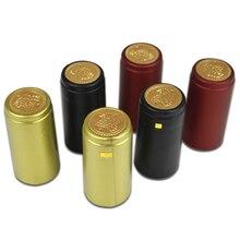 100 шт ПВХ термоусадочная крышка с отрывной линией импортный ряд материал для домашнего пивоварения красное вино бутылка бар уплотнение DIY аксессуары