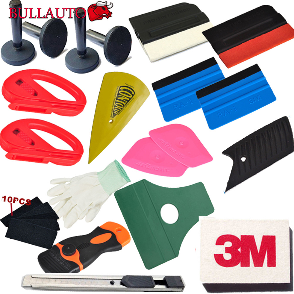 Useful Squeegee Car Window Tinting Auto Film Wrapping Install Applicator Tools