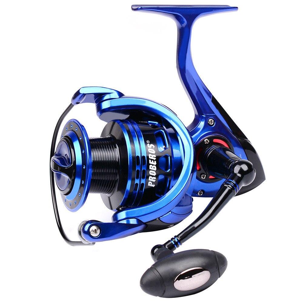 ZE5000 ZE6000 All Metal 9+1BB 5.2:1 Spinning Carp Fishing Reel Aluminum Alloy Rock Wheel Casting Fish Tackle Gear