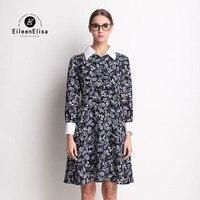 100 Silk Dress For Women Long Sleeve Summer Autumn Color Printed Silk Dress