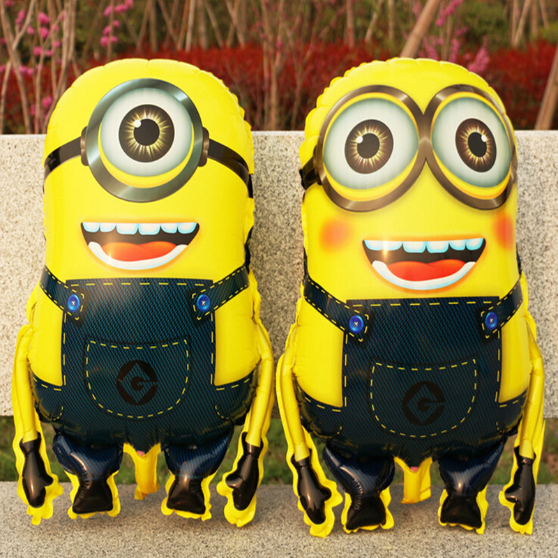 Hot sale 58*43cm Minions Foil Balloons Despicable Me 2 Inflatable Balloon for Kids Birthday Party Decoration minion ballon