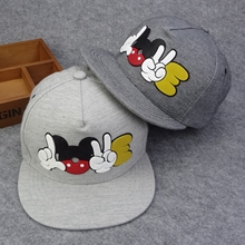 HOT 2016 cartoon cute Mickey baseball cap Snapback Hats brand Hip-hop hat High quality Bone gorras Women Man Chapeau Casquette