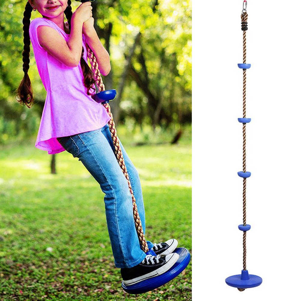 Enfants escalade corde Swing disque escalade corde enfants enfants jardin aire de jeux cour extérieure balançoire jeux équipement jouet balançoires