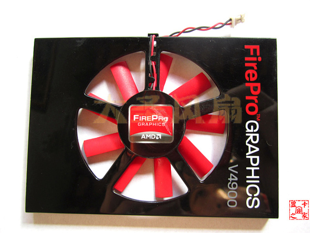 US $13 88  Original AMD FirePro V4900 W600 ATI V4900 W600 professional  graphics card graphics fan PLA6010S12H-in Fans & Cooling from Computer &  Office
