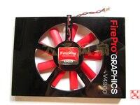 Original AMD FirePro V4900 W600 ATI V4900 W600 professionelle grafikkarte graphics fan PLA6010S12H