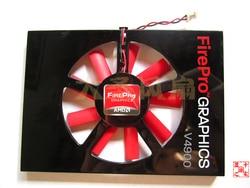 Oryginalny AMD FirePro V4900 W600 ATI V4900 W600 profesjonalna karta graficzna wentylator PLA6010S12H|Wentylatory i chłodzenie|Komputer i biuro -