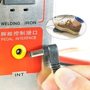 Image 4 - SUNKKO 709AD Spot welder 2.2KW High power battery digital display mobile soldering Spot welder 18650 Pulse spot weld  110 230V