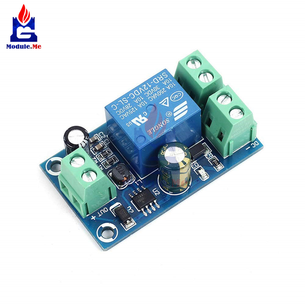 Low Voltage Disconnect Module Lvd 48v 30a Protect Prolong Battery Rangkaian On Off Relay Power Supply 12v To Board Protection Automatic Switching
