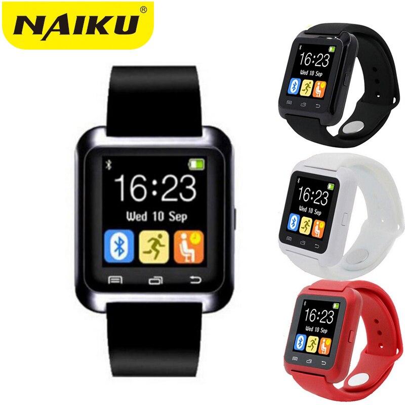Smartwatch Bluetooth Montre Smart Watch U8 pour iPhone IOS Android Smart téléphone Porter Horloge Dispositif Portable Smartwach PK A1 GT08 DZ09 W8