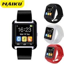 Лучшие SmartWatch Bluetooth Smart часы U8 для iPhone IOS Android смартфон Носите часы Носимых устройств умные часы PK A1 GT08 DZ09 w8
