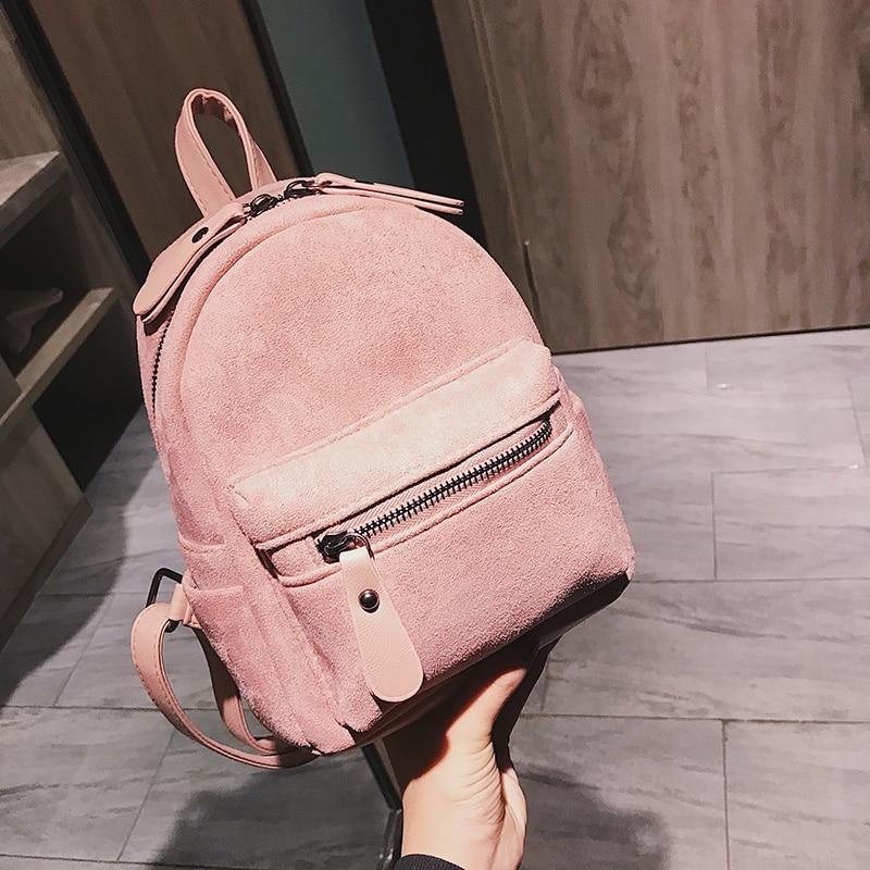 Small Backpack Purse Shoulder-Bag Multi-Function Female Designer Ladies Mini Fashion