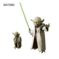 WSTXBD Originele BANDAI Star Wars SW Figuur-Rise 1/6 Schaal Yoda PVC Figuur Model Poppen Speelgoed Figurals Brinquedoas